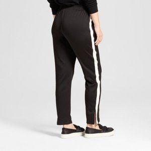Mossimo Black White Track Pants Adidas Inspired